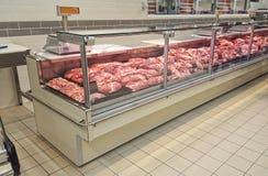 Negozio della carne fresca Immagine Stock