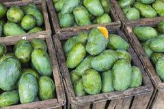Negozio della frutta del mango nello Sri Lanka fotografie stock libere da diritti