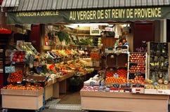 Negozio della frutta fresca Immagine Stock Libera da Diritti