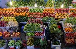 Negozio della frutta, prodotto di agricoltura al marke dell'agricoltore Fotografia Stock