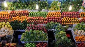 Negozio della frutta, prodotto di agricoltura al marke dell'agricoltore Immagini Stock
