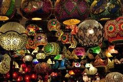 Negozio della lampada Fotografie Stock