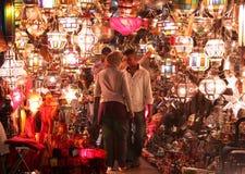 Negozio della lampada Fotografie Stock Libere da Diritti
