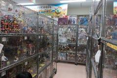 Negozio della raccolta del giocattolo di hobby in akihabara Giappone Immagine Stock