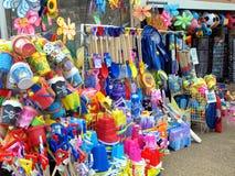 Negozio della spiaggia, Skegness, Lincolnshire immagine stock libera da diritti