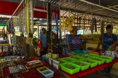 Negozio della viuzza nello stile tailandese. Immagini Stock
