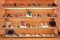 Negozio delle calzature Immagine Stock Libera da Diritti