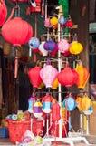 Negozio delle lanterne Immagini Stock Libere da Diritti