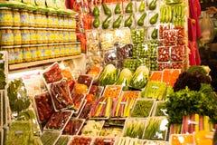 Negozio delle verdure Fotografia Stock