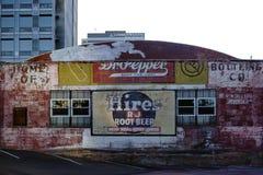 Negozio di alcolici d'annata Fotografia Stock Libera da Diritti