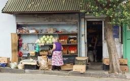 Negozio di alimentari, Tbilisi, Georgia, Europa Fotografia Stock