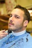 Negozio di barbiere immagini stock