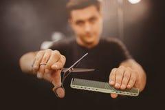 Negozio di barbiere per gli uomini immagine stock libera da diritti