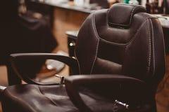 Negozio di barbiere per gli uomini fotografia stock libera da diritti