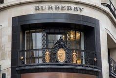 Negozio di Burberry a Londra Fotografia Stock Libera da Diritti