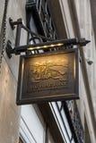Negozio di Burberry a Londra Fotografia Stock