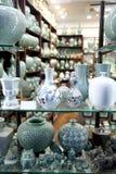 Negozio di ceramica Fotografia Stock