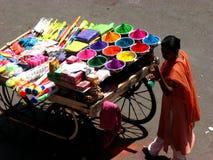 Negozio di colore Fotografie Stock Libere da Diritti