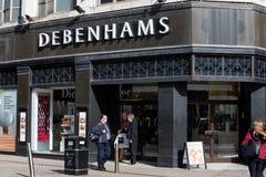 Negozio di Debenhams nel centesimo della città di Leeds fotografie stock libere da diritti