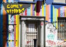 Negozio di dischi a Dublino, Irlanda Fotografia Stock Libera da Diritti