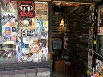 Negozio di dischi Houhai di Pechino immagini stock libere da diritti
