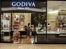 Negozio di Godiva fotografia stock libera da diritti