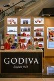 Negozio di Godiva a Bangna mega, Bangkok, Tailandia, il 2 giugno 2018 fotografia stock
