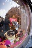 Negozio di Godiva a Grand Place di Bruxelles Belgio fotografia stock