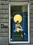 Negozio di lusso di modo di Dior in Italia   Immagini Stock