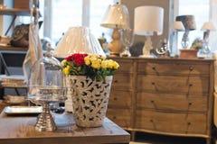Negozio di mobili interno Fotografie Stock