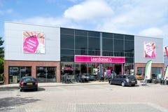 Negozio di mobili di Leen Bakker in Leiderdorp, Paesi Bassi Immagine Stock Libera da Diritti