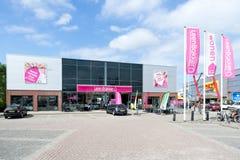 Negozio di mobili di Leen Bakker in Leiderdorp, Paesi Bassi Fotografie Stock Libere da Diritti