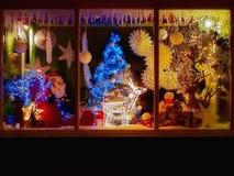 Negozio di Natale fotografia stock