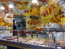 Negozio di pizza a Roma Immagine Stock