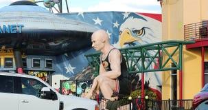 Negozio di regalo del pianeta di affare in Orlando Florida archivi video