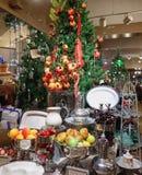 Negozio di regalo di Natale nei giardini di Longwood Immagini Stock