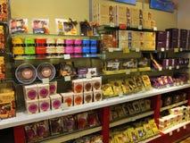 Negozio di regalo a Edimburgo, Scozia Fotografia Stock