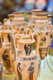 Negozio di ricordo della ceramica Fotografia Stock