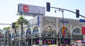 Negozio di ricordo della terra della La della La a Hollywood - LOS ANGELES - CALIFORNIA - 20 aprile 2017 Immagini Stock Libere da Diritti