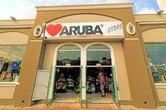 Negozio di ricordo di Aruba Fotografia Stock