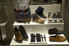Negozio di scarpe Immagini Stock