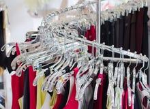 Negozio di vestiti Fotografia Stock Libera da Diritti