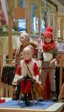 Negozio di vestiti dei bambini Fotografia Stock