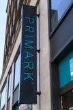 Negozio di vestiti di Primark a Londra Fotografia Stock Libera da Diritti