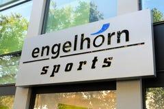 Negozio di vestiti di Engelhorn immagini stock libere da diritti
