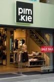 Negozio di vestiti Pimkie su Kurfuerstendamm Fotografie Stock