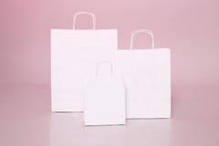 Negozio e deposito di sconto di vendita di acquisto della borsa del Libro Bianco Fotografia Stock Libera da Diritti