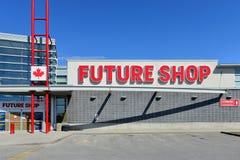 Negozio futuro Fotografia Stock Libera da Diritti