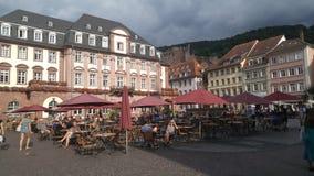 Negozio Heidelberg di Britannici Fotografie Stock Libere da Diritti