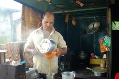 Negozio indiano del tè Immagini Stock Libere da Diritti